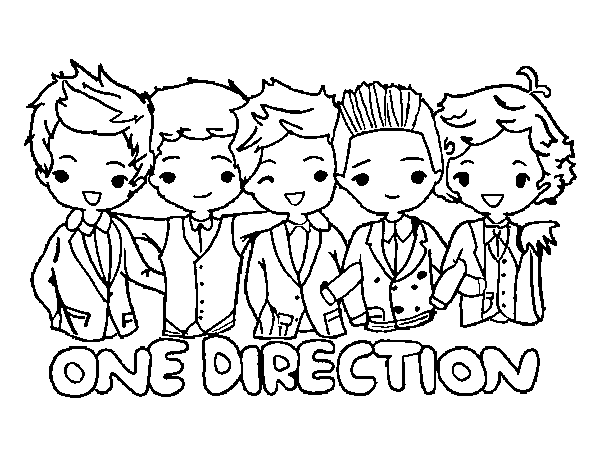 Cool Coloriage One Direction 60 Pour Coloriage idée by Coloriage One Direction