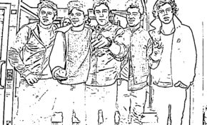 Cool Coloriage One Direction 99 Dans Coloriage Inspiration with Coloriage One Direction