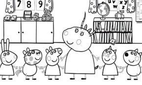 Cool Coloriage Peppa Pig 42 Pour Coloriage idée by Coloriage Peppa Pig