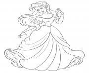 Cool Coloriage Princesse Arielle 98 Pour Coloriage Inspiration for Coloriage Princesse Arielle
