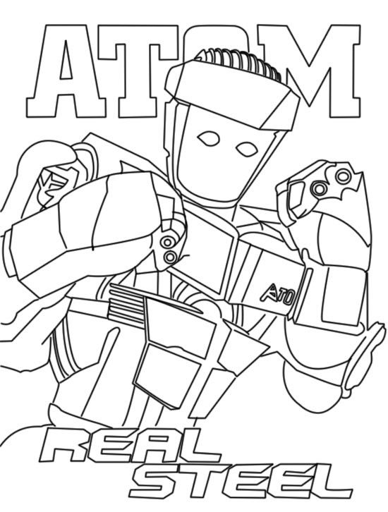 Cool Coloriage Real Steel 81 Avec supplémentaire Coloriage idée by Coloriage Real Steel