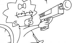 Cool Coloriage Simpson 11 Pour Coloriage Pages for Coloriage Simpson