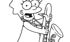 Cool Coloriage Simpson 38 Dans Coloriage Pages for Coloriage Simpson