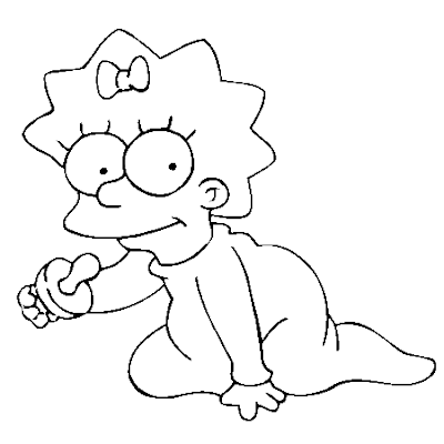 Cool Coloriage Simpson 54 sur Coloriage Inspiration for Coloriage Simpson