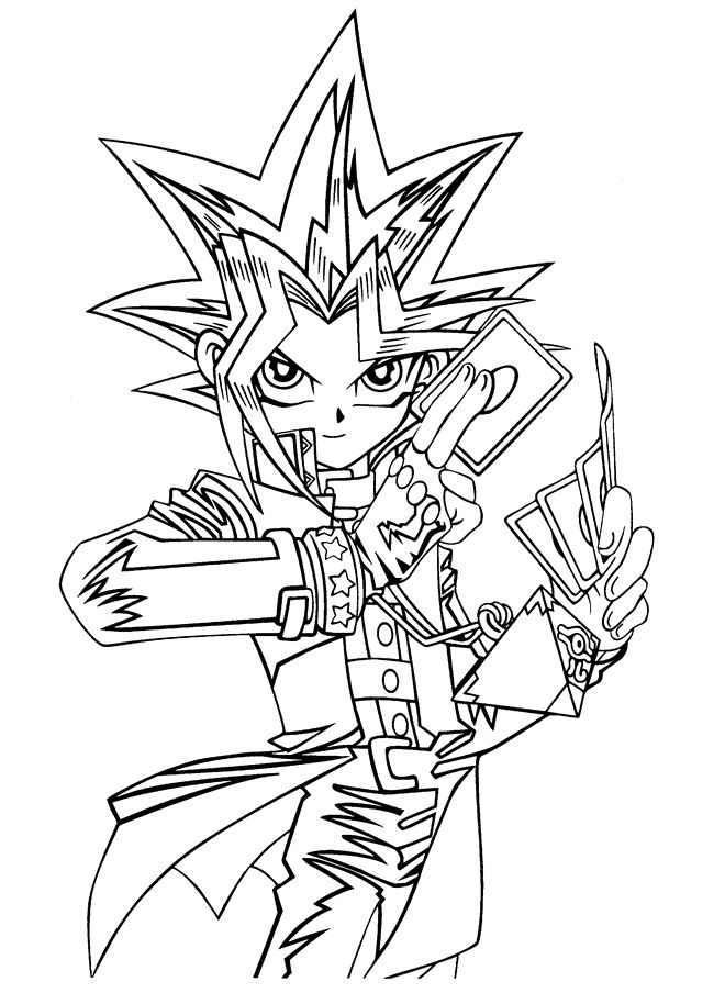 Cool Coloriage Yu Gi Oh 48 Pour votre Coloriage Pages with Coloriage Yu Gi Oh