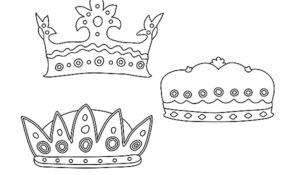 Cool Couronne Coloriage 36 Pour Coloriage Inspiration for Couronne Coloriage