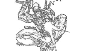 Cool Deadpool Coloriage 27 Dans Coloriage Books for Deadpool Coloriage