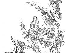 Cool Dessin Mandala Papillon 62 Dans Coloriage Pages for Dessin Mandala Papillon