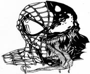 Cool Dessin Venom A Colorier 67 Pour Coloriage Pages by Dessin Venom A Colorier