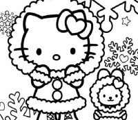 Cool Hello Kitty Anniversaire Coloriage 60 Dans Coloriage idée for Hello Kitty Anniversaire Coloriage
