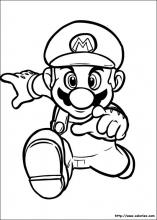 Cool Mario Galaxy Coloriage 15 Pour Coloriage Pages with Mario Galaxy Coloriage