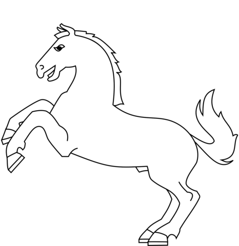 Excellent Cheval Qui Saute Dessin 91 Pour Coloriage Books with Cheval Qui Saute Dessin