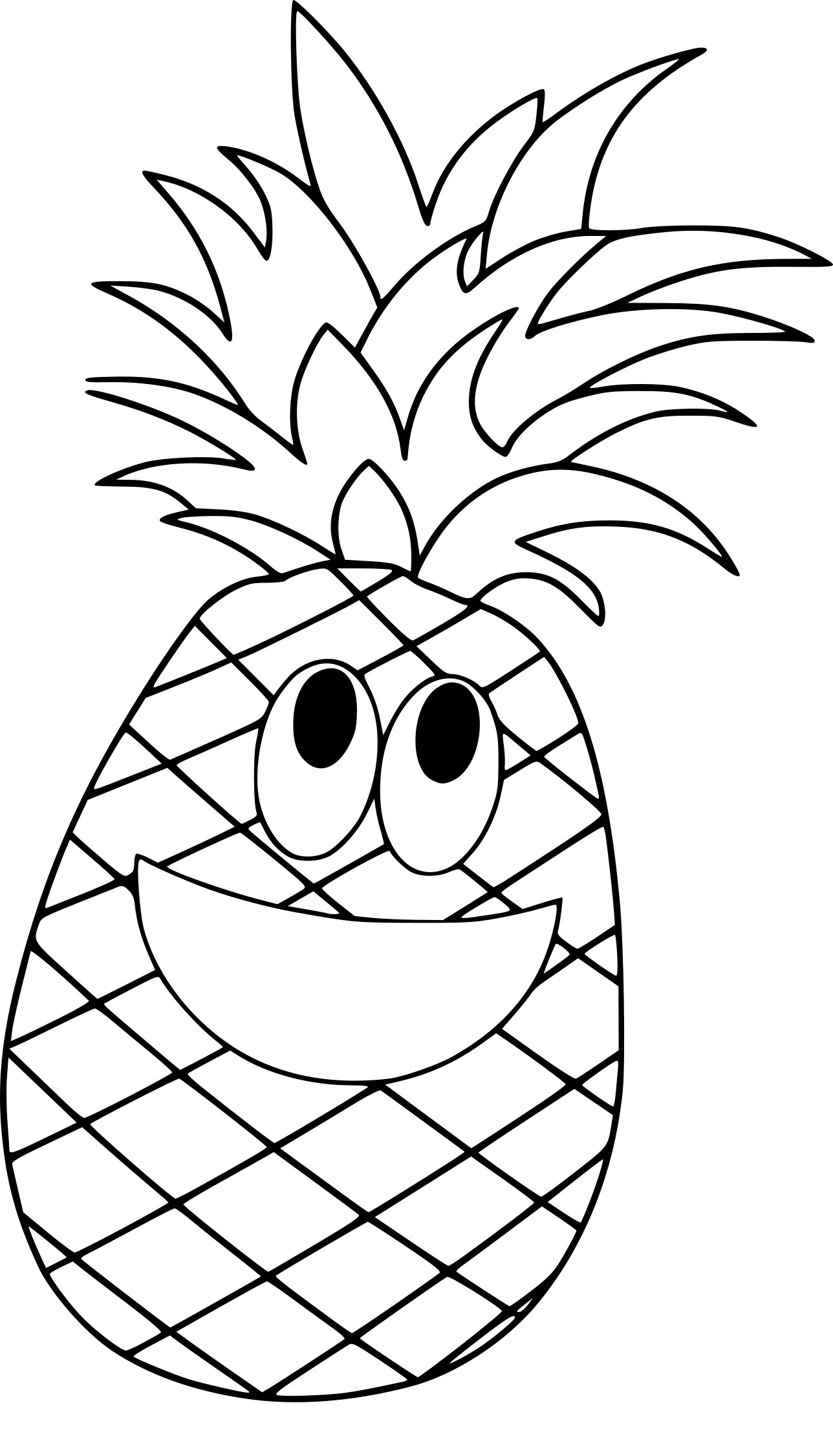 Excellent Coloriage Ananas 98 Pour Coloriage Inspiration by Coloriage Ananas