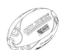 Excellent Coloriage Ballon De Rugby 24 Pour votre Coloriage Pages for Coloriage Ballon De Rugby