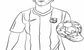 Excellent Coloriage Foot Messi 13 Pour Coloriage Books for Coloriage Foot Messi