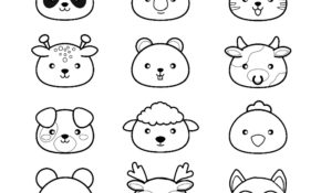 Excellent Coloriage Kawaii Crush 20 Dans Coloriage idée for Coloriage Kawaii Crush