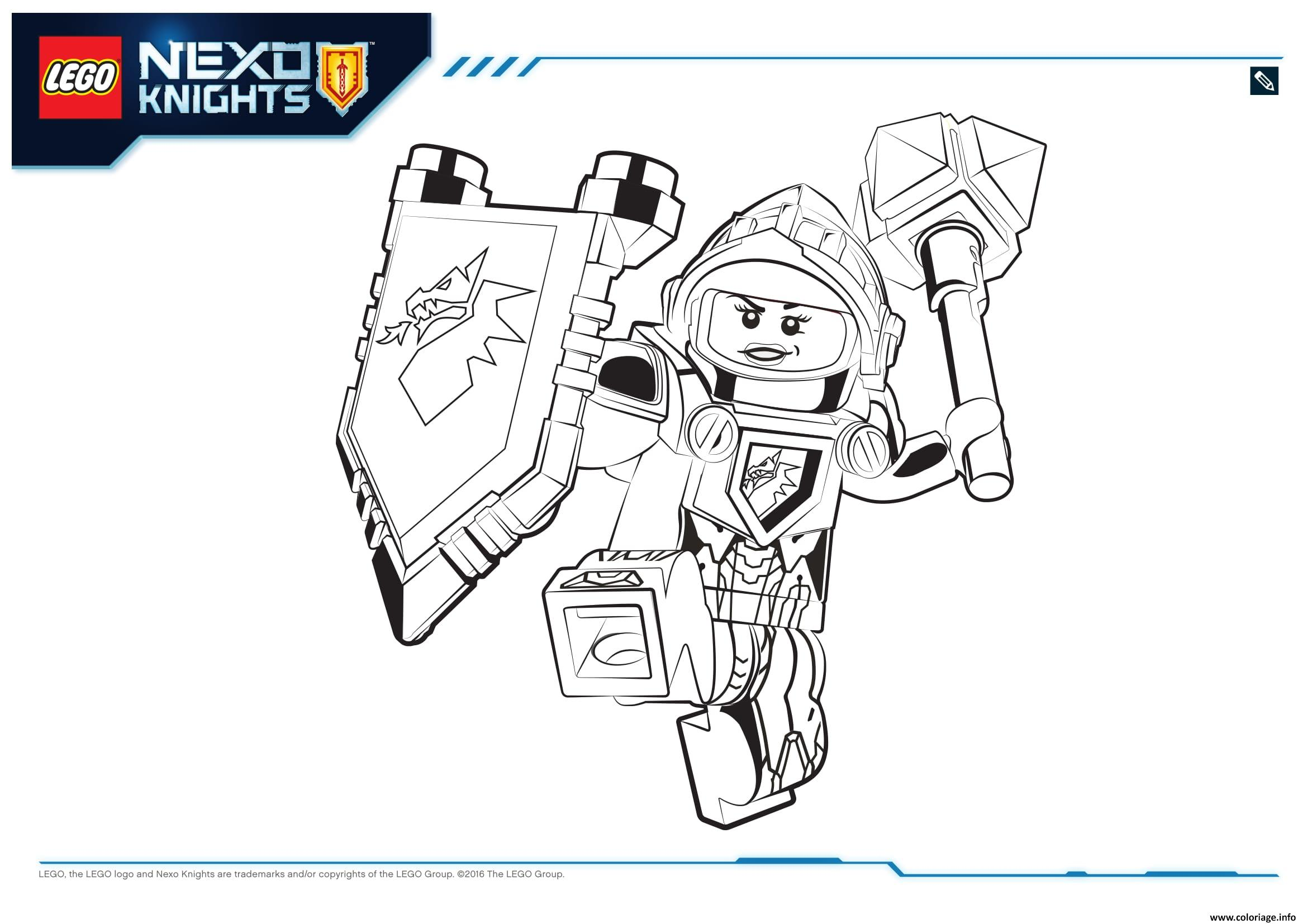 Excellent Coloriage Lego Nexo Knights à Imprimer 67 Pour Coloriage Pages with Coloriage Lego Nexo Knights à Imprimer