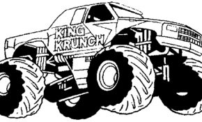 Excellent Coloriage Monster Truck 85 Avec supplémentaire Coloriage Inspiration for Coloriage Monster Truck