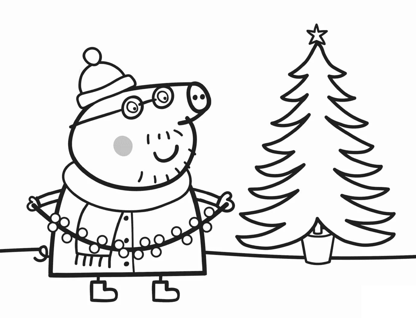 Excellent Coloriage Peppa Pig 94 Pour Coloriage Pages for Coloriage Peppa Pig