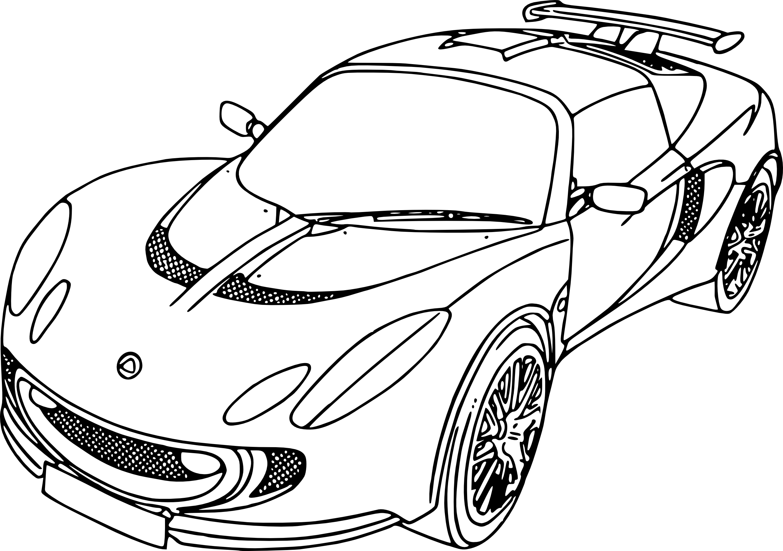 Excellent Coloriage Voiture 64 sur Coloriage Pages for Coloriage Voiture