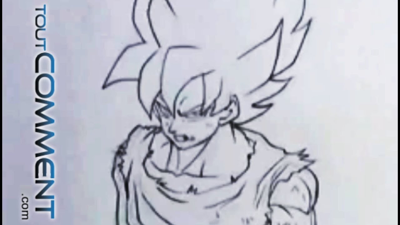 Excellent Dessin Dragon Ball Z 63 Avec supplémentaire Coloriage Inspiration with Dessin Dragon Ball Z