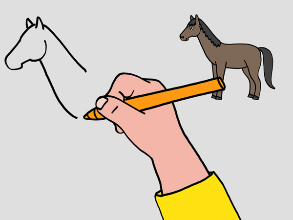 Excellent Dessin Facile A Faire De Cheval 55 Pour Coloriage Pages with Dessin Facile A Faire De Cheval