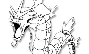 Excellent Dessin Pokemon Leviator 39 sur Coloriage Books by Dessin Pokemon Leviator