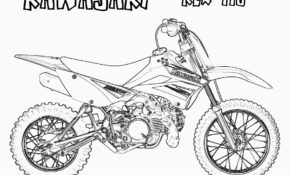Excellent Moto Cross A Colorier 86 sur Coloriage Inspiration with Moto Cross A Colorier