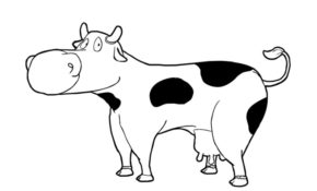 Excellent Vache Coloriage 21 Dans Coloriage Inspiration by Vache Coloriage