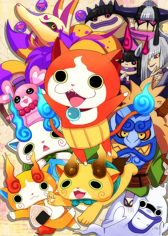 Excellent Yokai Watch Wallpaper 17 Avec supplémentaire Coloriage Pages by Yokai Watch Wallpaper