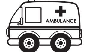Facile Coloriage Ambulance 29 Pour votre Coloriage Inspiration with Coloriage Ambulance