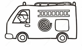Facile Coloriage Ambulance Pompier 88 sur Coloriage Books with Coloriage Ambulance Pompier