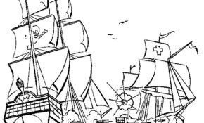 Facile Coloriage Bateau De Pirates 24 sur Coloriage Pages for Coloriage Bateau De Pirates
