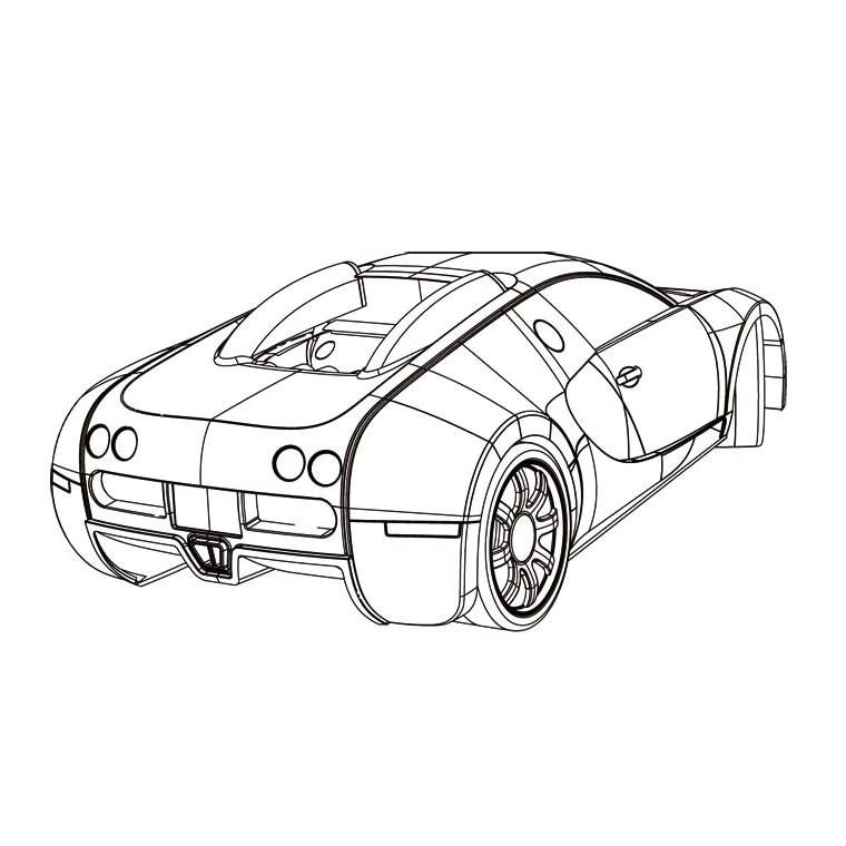 Facile Coloriage De Bugatti 87 Pour Coloriage Inspiration with Coloriage De Bugatti