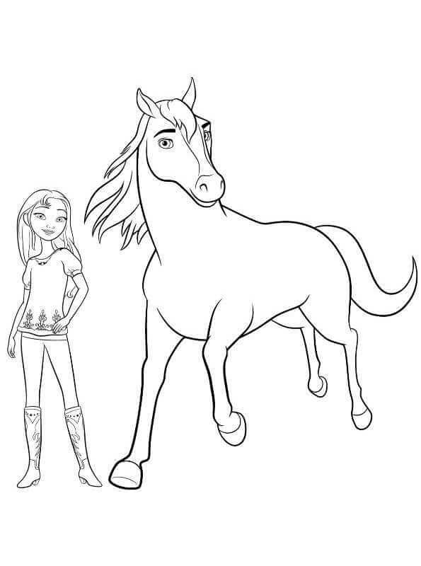 Facile Coloriage De Spirit 76 Dans Coloriage Pages for Coloriage De Spirit