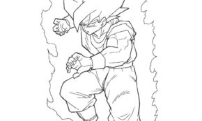 Facile Coloriage Dragon Ball Z Sangoku Super Sayen 4 53 Pour votre Coloriage Inspiration with Coloriage Dragon Ball Z Sangoku Super Sayen 4