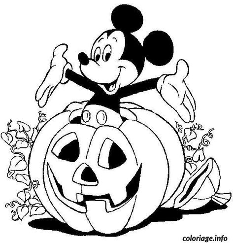 Facile Coloriage Halloween Disney 15 Pour Coloriage Pages with Coloriage Halloween Disney