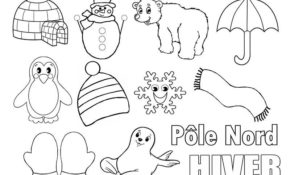 Facile Coloriage Pole Nord 90 Pour Coloriage Pages for Coloriage Pole Nord