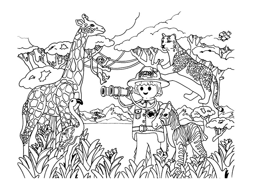 Facile Coloriage Police Playmobil 36 Pour Coloriage idée with Coloriage Police Playmobil