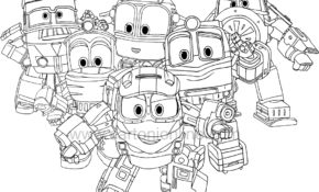 Facile Coloriage Robot Train 90 Pour Coloriage idée with Coloriage Robot Train