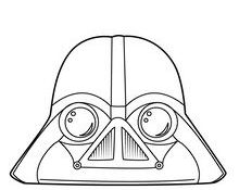 Facile Coloriage Star Wars Angry Birds 76 Dans Coloriage Inspiration by Coloriage Star Wars Angry Birds