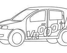 Facile Coloriage Voiture De Rallye 59 sur Coloriage Pages for Coloriage Voiture De Rallye