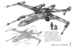 Facile X Wing Dessin 36 Dans Coloriage Pages with X Wing Dessin