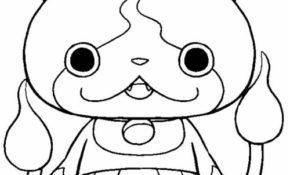 Facile Yokai Watch Coloriage 25 Pour Coloriage idée with Yokai Watch Coloriage