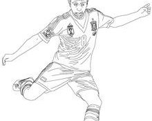 Génial Coloriage Foot Messi 95 Pour Coloriage Pages for Coloriage Foot Messi