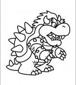Génial Dessin De Bowser 93 Pour Coloriage Pages with Dessin De Bowser
