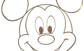 Génial Dessin Tete Mickey 64 sur Coloriage Pages for Dessin Tete Mickey