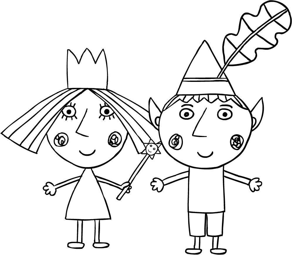 Haut Ben Et Holly Coloriage 59 Pour Coloriage Books for Ben Et Holly Coloriage