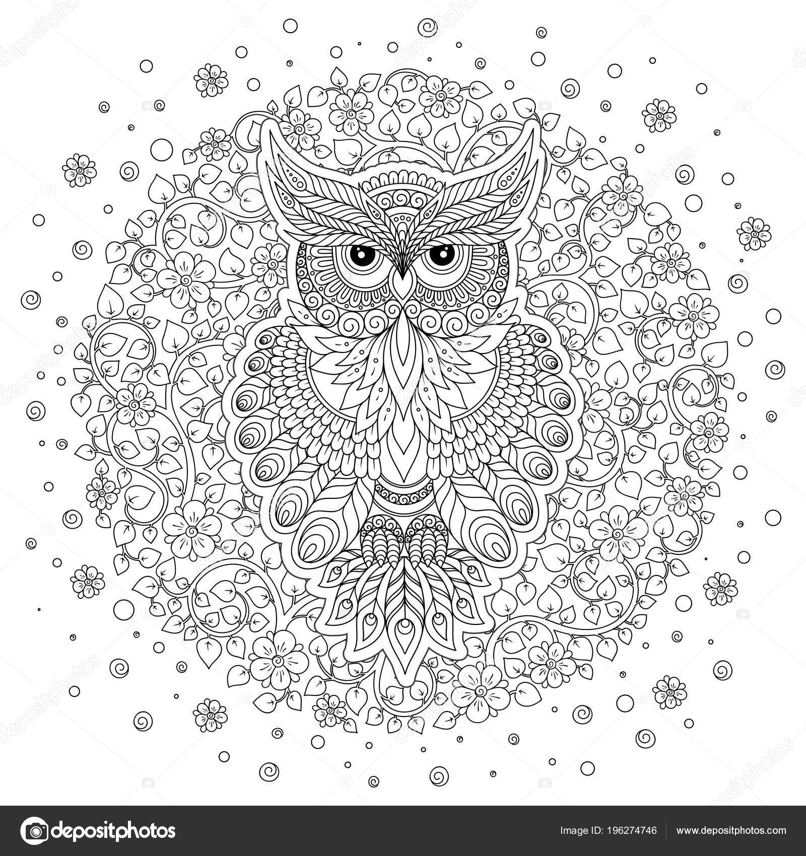 Haut Coloriage Chouette Adulte 83 Pour Coloriage Books by Coloriage Chouette Adulte
