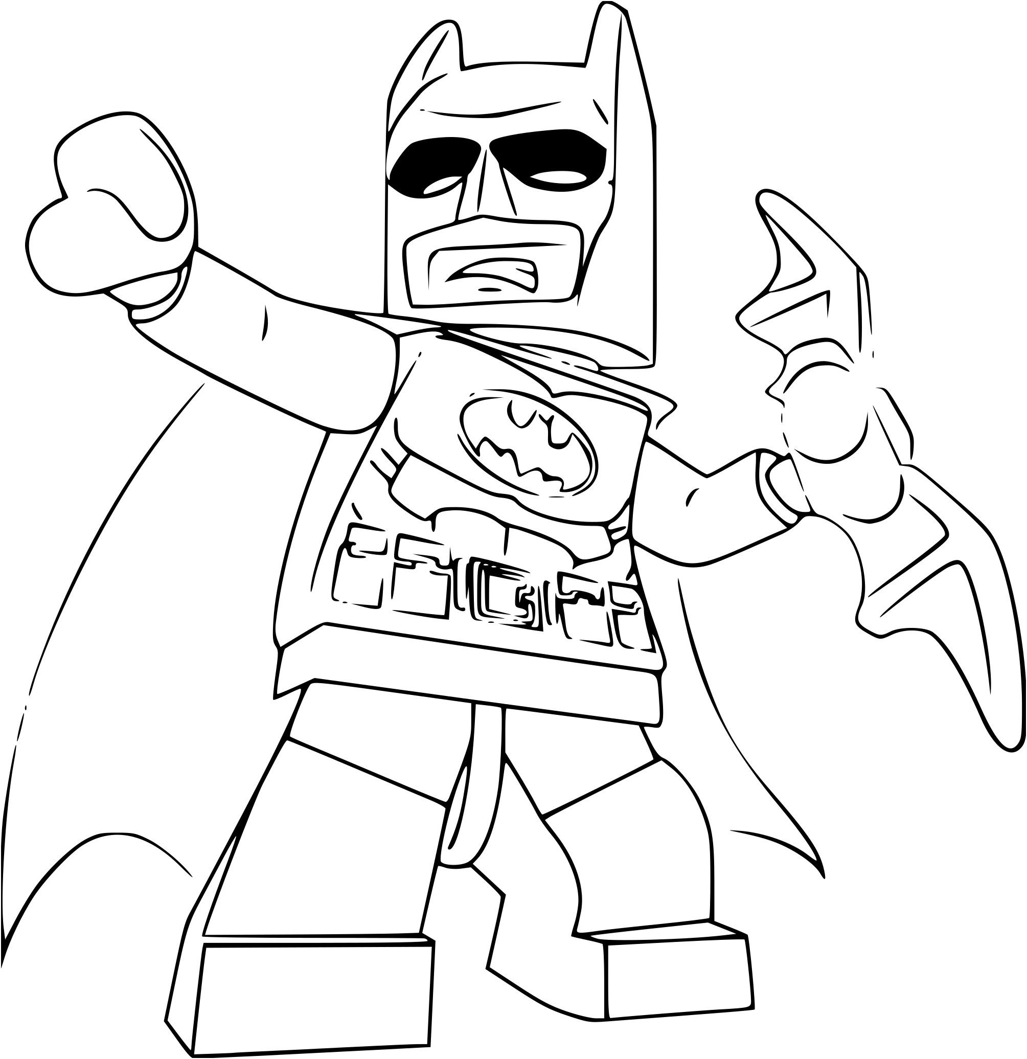 Haut Coloriage Lego Batman Movie 62 sur Coloriage idée with Coloriage Lego Batman Movie